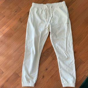 American Eagle Yellow Sweatpants Size Medium